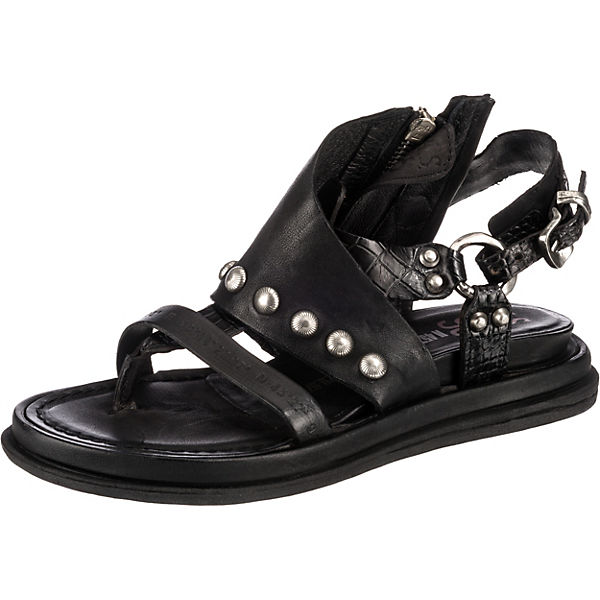 A.S.98  Klassische Sandalen  schwarz cLsps