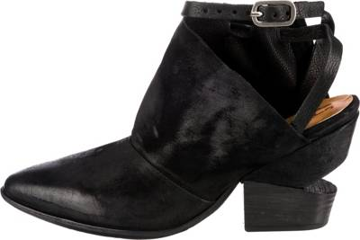 A.S.98, Schaftsandaletten, schwarz   Sandaletten für Damen