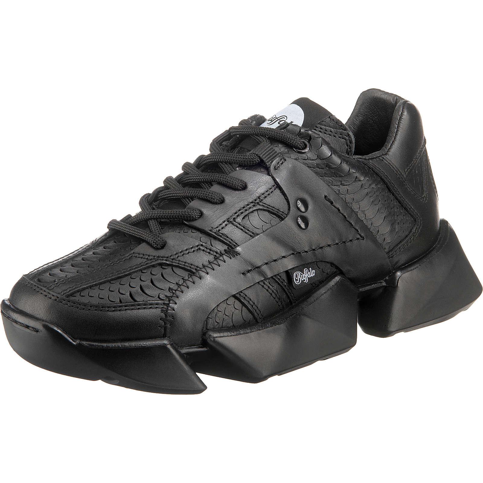 Buffalo London Mtrcs Light Chunky Sneakers Schwarz Damen Gr. 37
