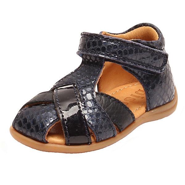 Gutes Angebot bisgaard Baby Sandalen für Mädchen dunkelblau
