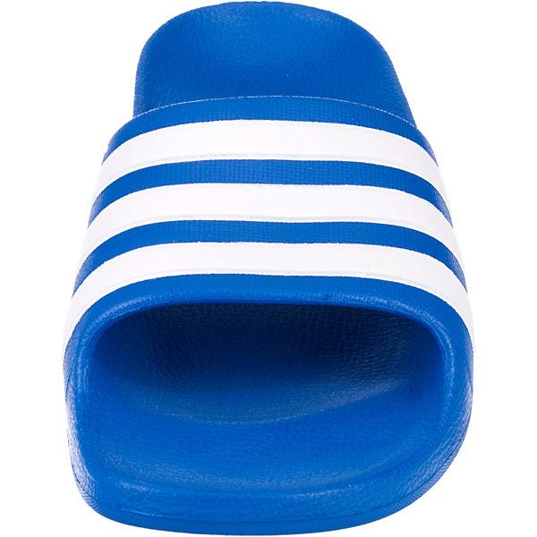 Gutes Angebot adidas Performance  Badelatschen ADILETTE AQUA für Jungen  blau