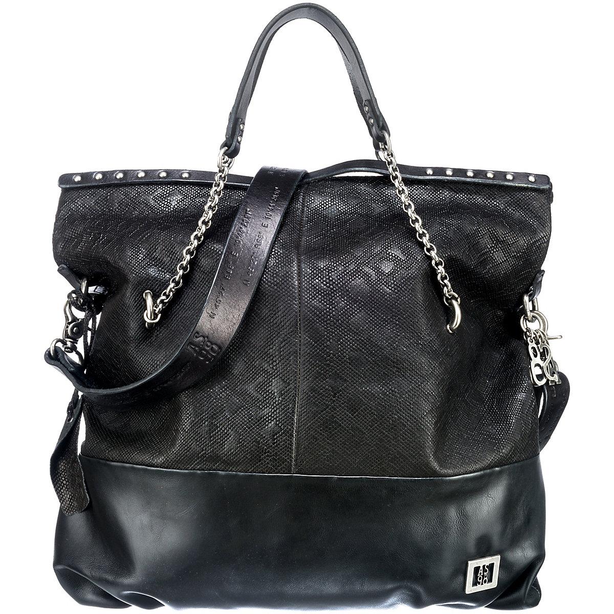 A.S.98, Handtasche, schwarz