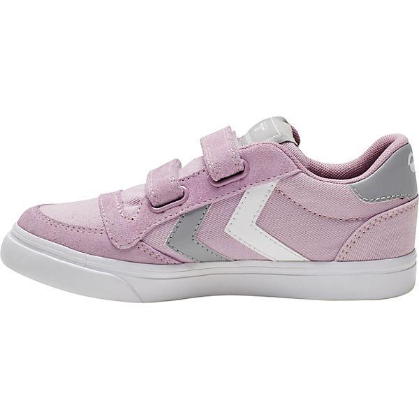 Gutes Angebot hummel  Sneakers Low STADIL für Mädchen  altrosa