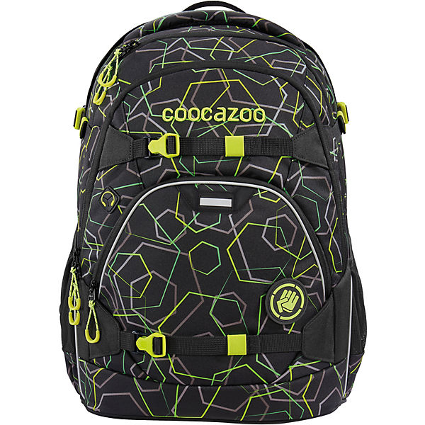Schulrucksack ScaleRale Laserbeam, Black (Kollektion 2020)
