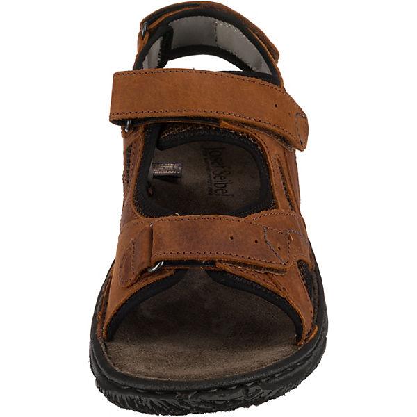 Josef Seibel  Carlo 10 Komfort-Sandalen  braun