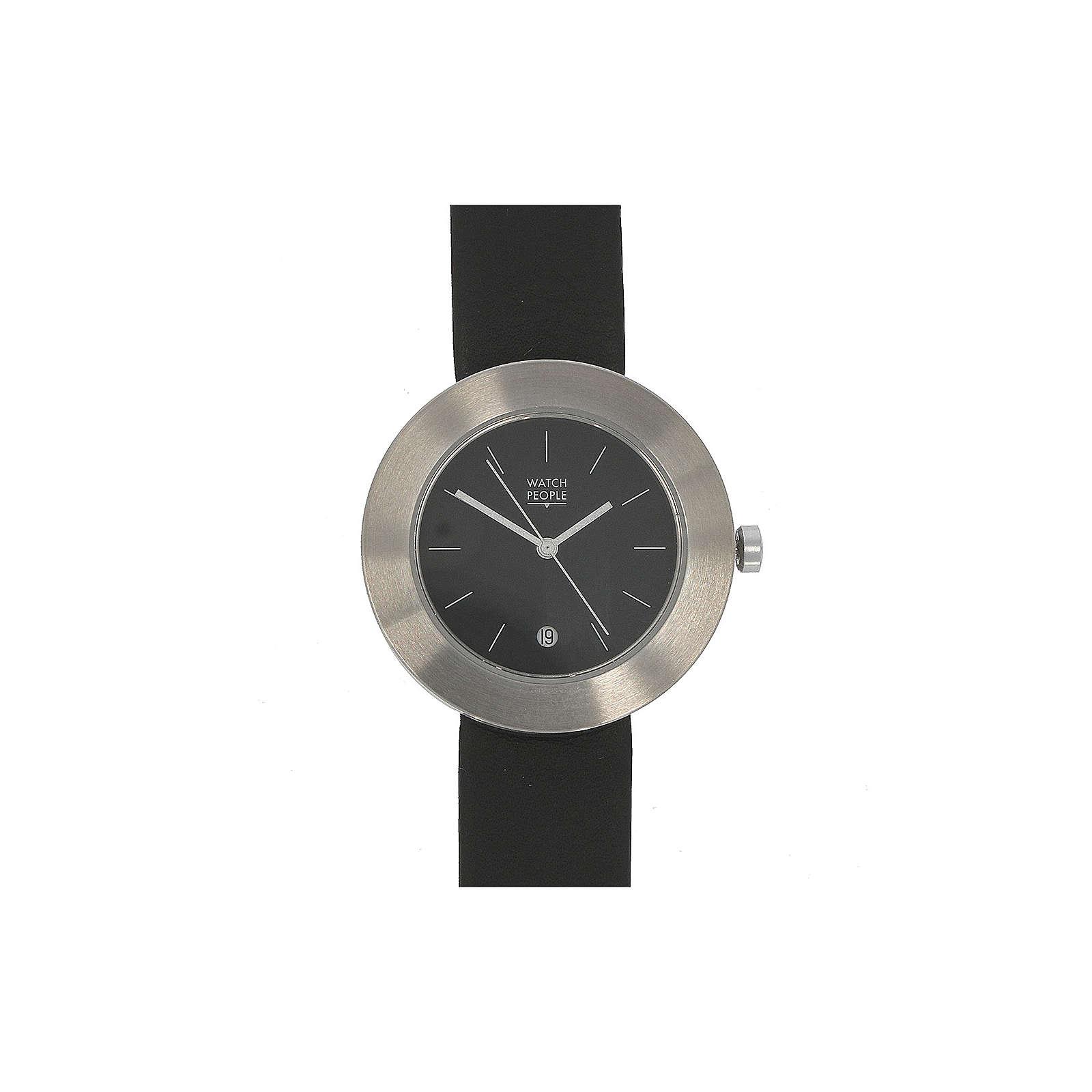 WATCH PEOPLE WatchPeople Damenuhr Toto silber/schwarz Analoguhren schwarz Damen