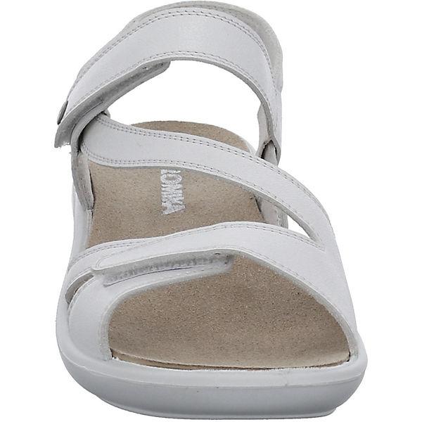 ROMIKA  194 Komfort-Sandalen  weiß