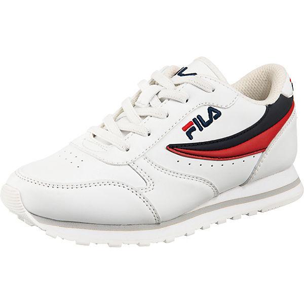 Gutes Angebot FILA Kinder Sneakers Low Orbit Low Kids weiß