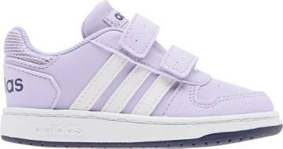 adidas Sport Inspired, Baby Sneakers Low HOOPS 2.0 CMF für Mädchen, flieder