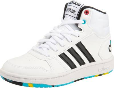 2 0 2 Hoops Adidas High InspiredSneakers Für JungenWeiß