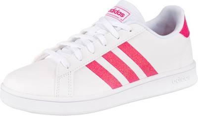 adidas Sport Inspired, Sneakers Low GRAND COURT für Mädchen, weiß Modell 2