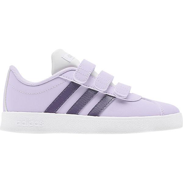 Gutes Angebot adidas Sport Inspired Sneakers Low VL COURT 2.0 CMF für Mädchen flieder