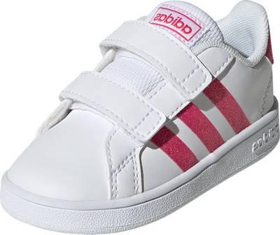 adidas Sport Inspired, Baby Sneakers Low GRAND COURT für Mädchen, weiß Modell 2