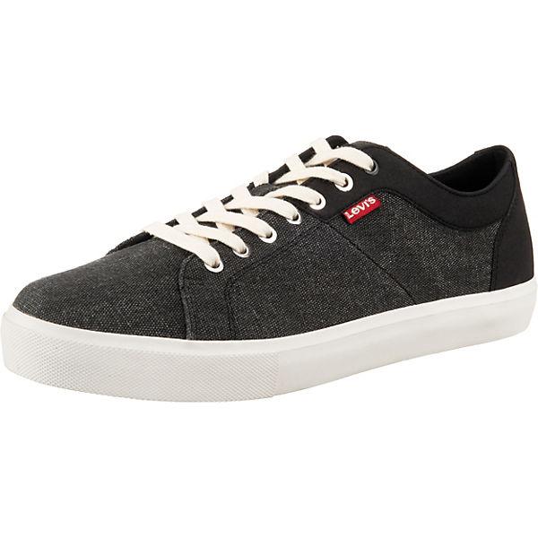 Beste Wahl Levi's® Woodward Sneakers Low grau