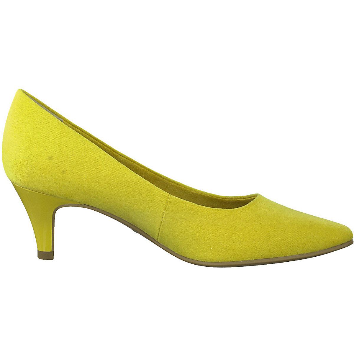 Tamaris, Klassische Pumps, gelb