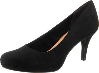 BIANCO Lack Pumps High Heels Leder schwarz 38