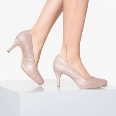 tamaris pumps rot, Tamaris high heel sandaletten pewter