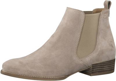 chelsea boots tamaris taupe