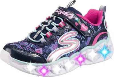 SKECHERS, Sneakers Low Blinkies Heart Lights für Mädchen JqpZz