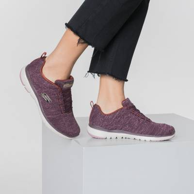 SKECHERS, BOBS SQUAD TOTAL GLAM Sneakers Low, bordeaux