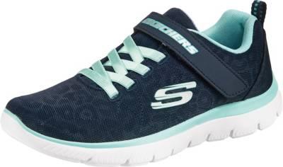 SKECHERS, Sneakers Low Summits Worth Wild für Mädchen, blau