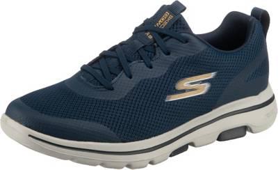 SKECHERS, GO WALK 5 Walkingschuhe, blau | mirapodo 574Y9