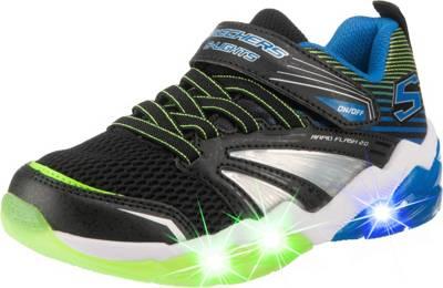 SKECHERS, Sneakers Low Blinkies Rapid Flash 2.0 für Jungen PfQbz