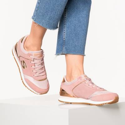 SKECHERS, OG 85 GOLD'N GURL Sneakers Low, bordeaux
