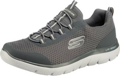 SKECHERS, SUMMITS Sneakers Low, anthrazit