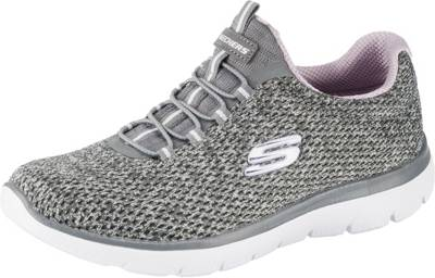 SKECHERS, SUMMITS Sneakers Low, grau