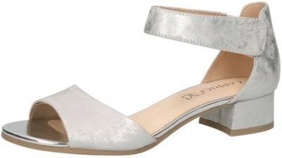 Caprice Sandalette für Damen in silber | P&P Shoes