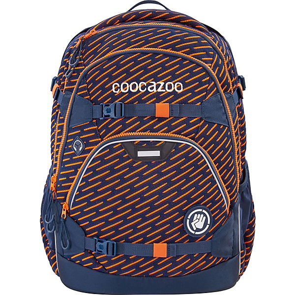 Schulrucksack ScaleRale FreakaSneaka Orange Blue Ltd. Edition
