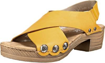 rieker, Klassische Sandaletten, gelb | mirapodo 4pjPo