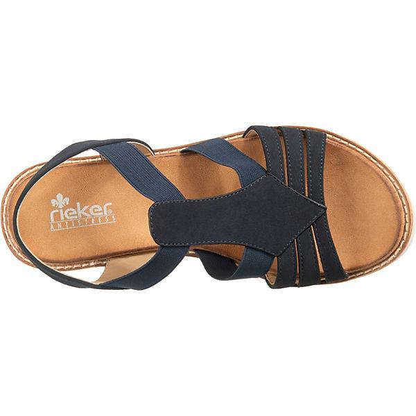 Großer Rabatt rieker Klassische Sandalen blau sl56kjfjJKJ25 Verkauf