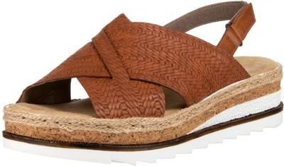 rieker, Klassische Sandalen, braun | mirapodo 7nIm4