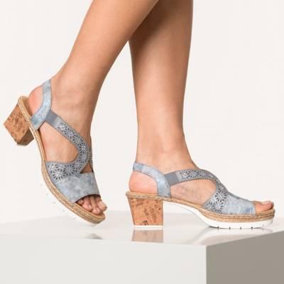 rieker, Klassische Sandaletten, schwarz   mirapodo 7C3By