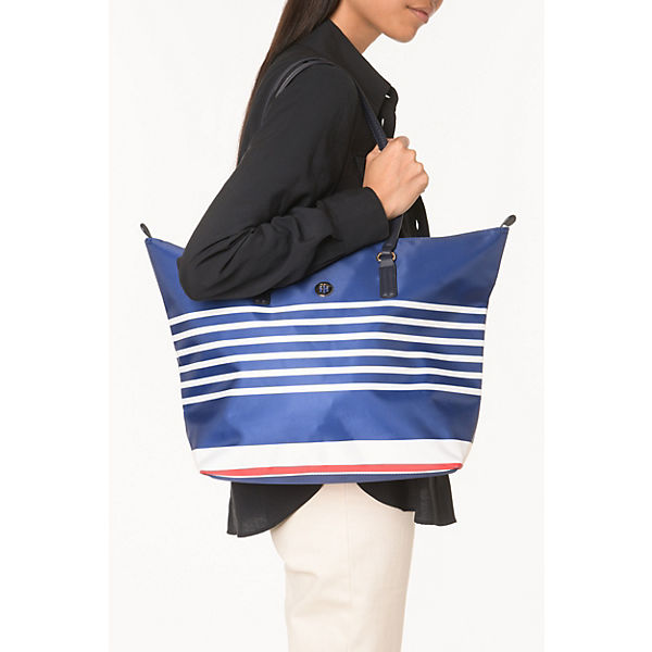 Poppy Tote Stripes Shopper