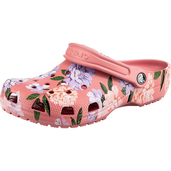 Classic Printed Floral Clog Clogs