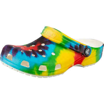 Classic Tie Dye Graphic Clog Clogs