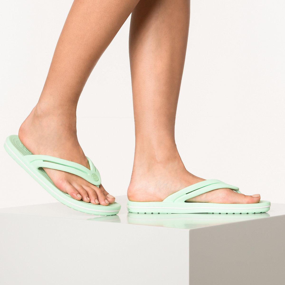 crocs Crocband Flip W Zehentrenner mint