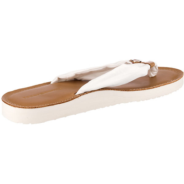 LEATHER FOOTBED BEACH SANDAL Zehentrenner
