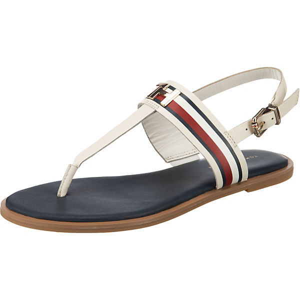 CORPORATE LEATHER FLAT SANDAL T-Steg-Sandalen