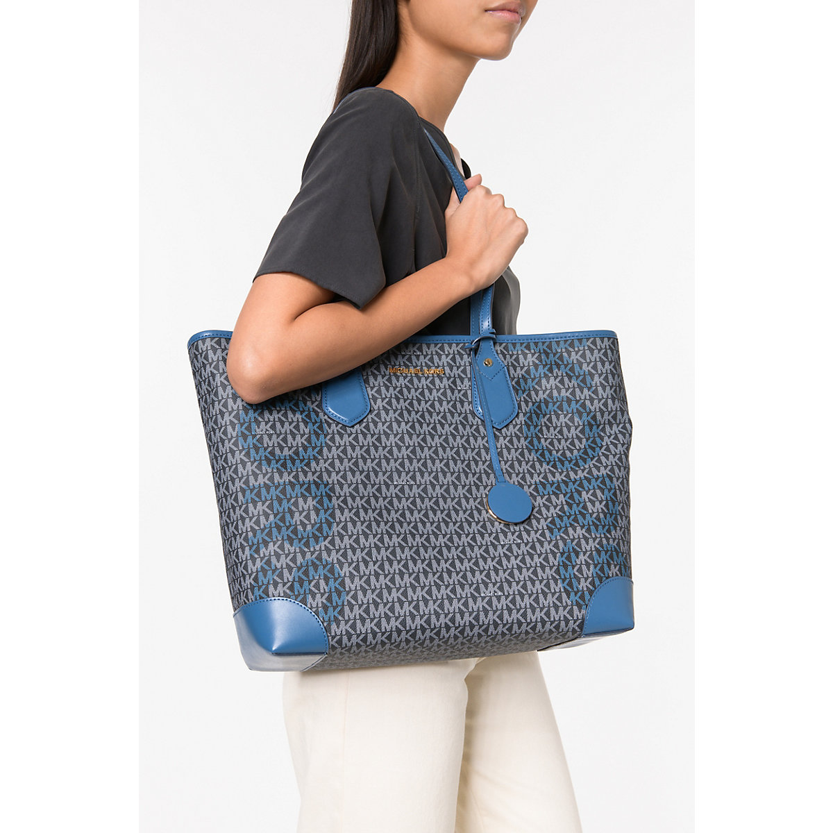 Michael Kors, Bag Tote Handtasche, Blau-kombi