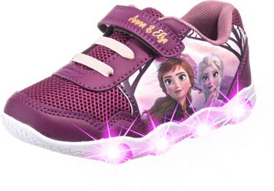Sneaker Disney die Eiskönigin Elsa /& Anna Rosa Kinderschuhe Mädchenschuhe
