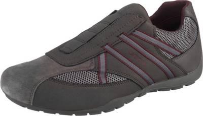 GEOX, U Ravex Slip On Sneaker, grau