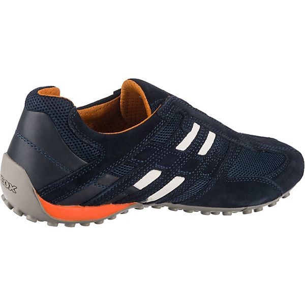 GEOX  Uomo Snake Sneakers Low  dunkelblau