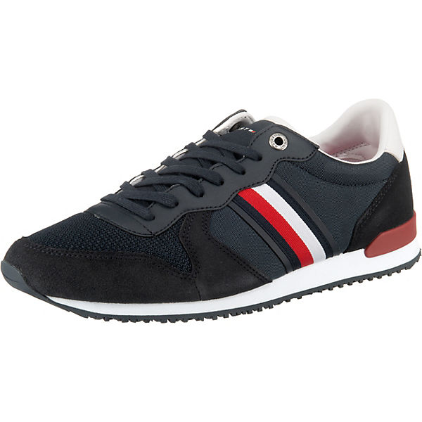 ICONIC MATERIAL MIX RUNNER Sneakers Low