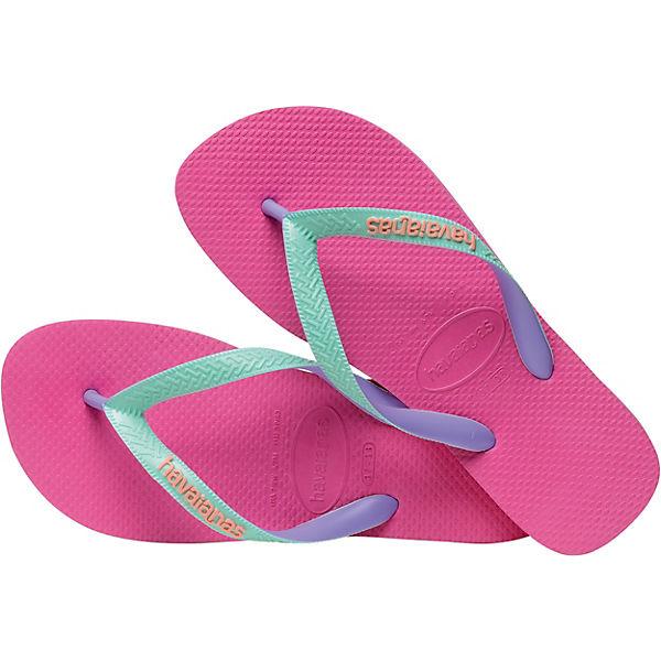 Gutes Angebot havaianas Zehentrenner TOP MIX HOLLYWOOD ROSE für Mädchen pink