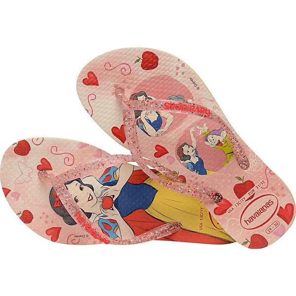 Gutes Angebot Disney Disney Schneewittchen Zehentrenner KIDS SLIM für Mädchen rosa