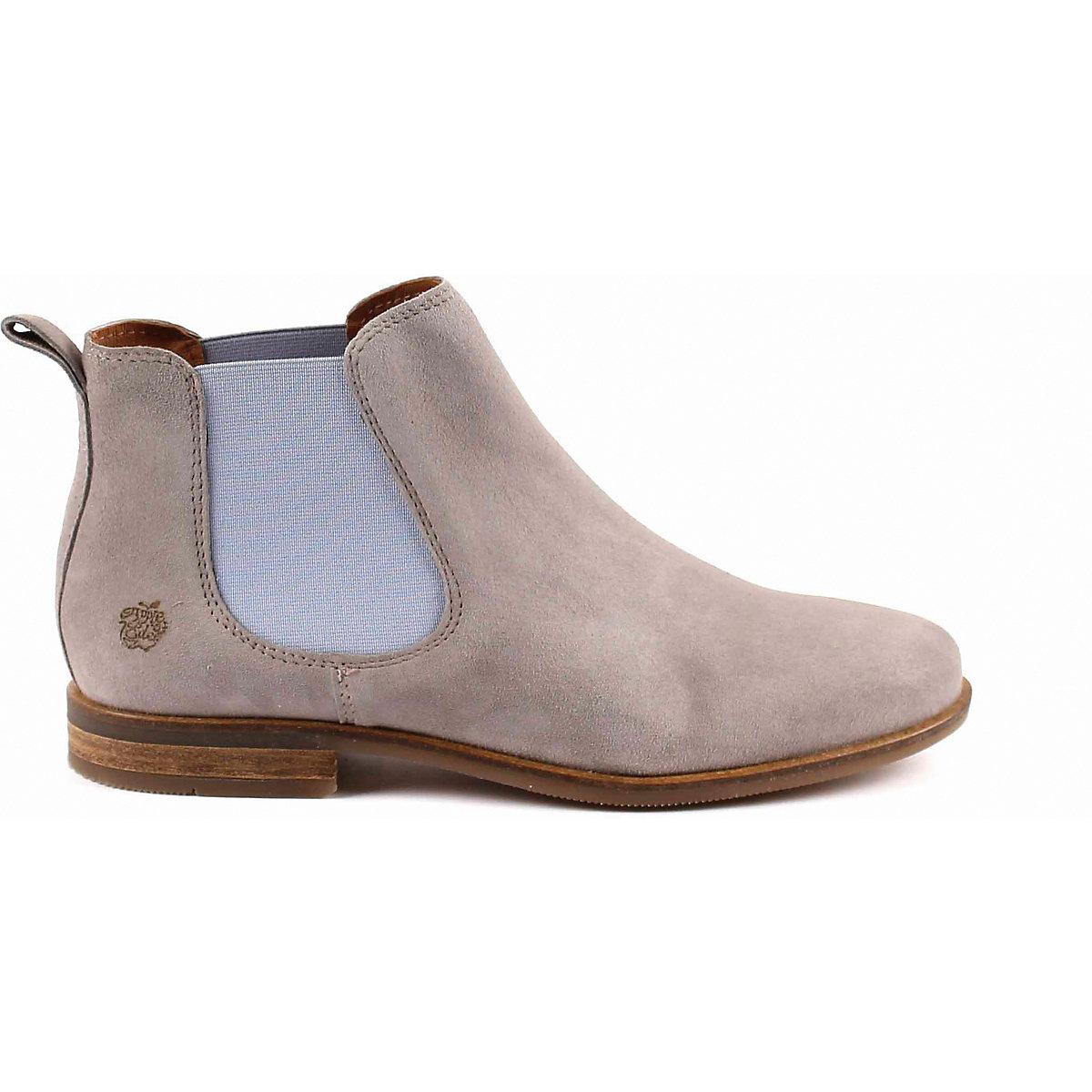 Apple Of Eden, Manon Chelsea Boots, Grau